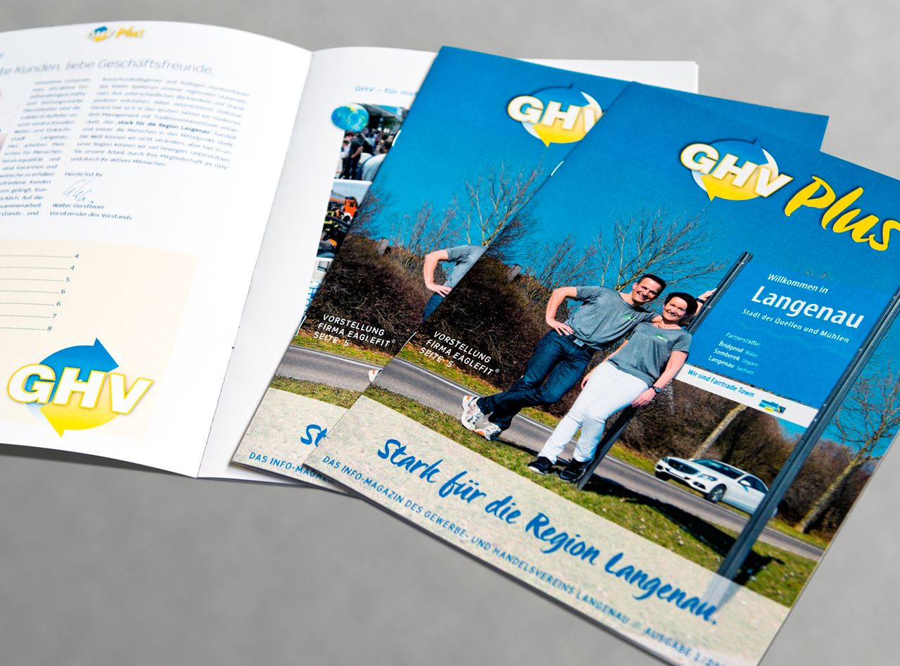 Das GHV Plus-Magazin